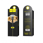 Cablu Date si Incarcare USB la MicroUSB HOCO Flash X20, 2 m, Negru