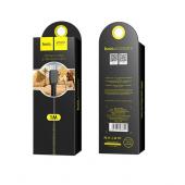 Cablu Date si Incarcare USB la MicroUSB HOCO Flash X20, 1 m, Negru
