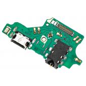 Placa Cu Conector Audio - Conector Incarcare / Date - Microfon Huawei P20 Lite