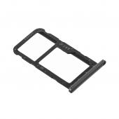 Suport Card - Suport SIM Huawei P20 Lite, Negru