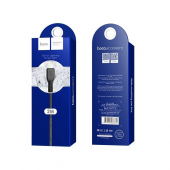 Cablu Date si Incarcare USB la Lightning HOCO Flash X20, 2 m, Negru
