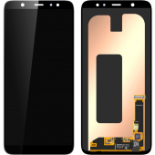 Display - Touchscreen Samsung Galaxy A6 Plus (2018) A605 GH97-21878A, Negru