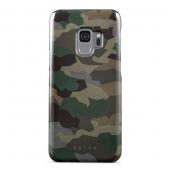 Husa Plastic Burga Tropical Green Camo Samsung Galaxy S9 G960, Blister S9_SP_ML_03