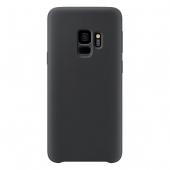 Husa TPU OEM Pure Silicone pentru Samsung Galaxy S9 G960, Neagra, Blister
