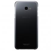 Husa Plastic Samsung J4 Plus (2018) J415, Gradation Cover, Neagra EF-AJ415CBEGWW