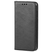 Husa Piele OEM Smart Magnet pentru Huawei Mate 20 Lite, Neagra, Bulk