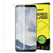 Folie Protectie Ecran WZK pentru Samsung Galaxy S9 G960, Sticla securizata, Full Face, Blister