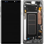 Display - Touchscreen Samsung Galaxy Note 9 N960, Cu Rama, Negru GH97-22270A
