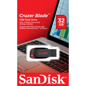 Memorie Externa SanDisk Cruzer Blade, 32Gb, USB 2.0, Neagra SDCZ50-032G-B35