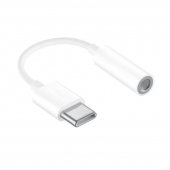 Adaptor Audio USB Type-C la 3.5 mm OEM, Alb, Bulk