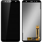 Display - Touchscreen Samsung J4 Plus (2018) J415 / Samsung J6 Plus (2018) J610, Negru GH97-22582A