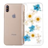 Husa TPU OEM chamomile pentru Apple iPhone X / Apple iPhone XS, Multicolor, Bulk