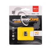 Card Memorie MicroSDHC Imro Fara Adaptor, 32Gb, Clasa 10 - UHS-1 U1, Blister