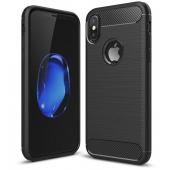 Husa TPU OEM Carbon pentru Apple iPhone XS Max, Neagra, Bulk