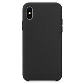 Husa TPU OEM Pure Silicone pentru Apple iPhone XS Max, Neagra