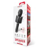 Microfon Karaoke Cu Difuzor Bluetooth Forever BMS-300 Negru