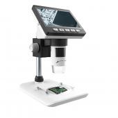 Microscop digital cu LCD HD 4.3 inch, LED, 50 x 1000X