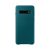 Husa Piele Samsung Galaxy S10 G973, Leather Cover, Turquoise, Blister EF-VG973LGEGWW