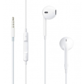 Handsfree Casti EarPods Apple A1472, Cu microfon, 3.5 mm, Alb MNHF2ZM/A