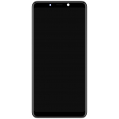 Display - Touchscreen Cu Rama Negru Samsung Galaxy A9 (2018) A920 GH82-18308A