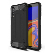 Husa Plastic - TPU OEM Tough Armor pentru Samsung Galaxy A7 (2018) A750, Neagra