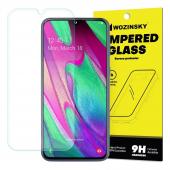 Folie Protectie Ecran WZK pentru Samsung Galaxy A7 (2018) A750, Sticla securizata, 9H, Blister