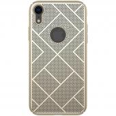 Husa Plastic Nillkin Air Slim pentru Apple iPhone XR, Aurie