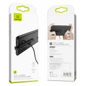 Cablu Date si Incarcare USB la USB Type-C Usams Gaming SJ279, 1.5 m, Negru, Blister