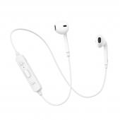 Handsfree Casti Bluetooth Usams LN001, Sport, Alb, Blister