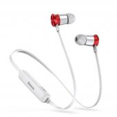 Handsfree Casti Bluetooth Baseus Encok S07, Sport, Alb - Rosu, Blister