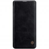 Husa Piele Nillkin Qin Book pentru Samsung Galaxy S10 G973, Neagra, Blister