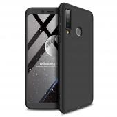 Husa Plastic OEM Full Cover pentru Samsung Galaxy A9 (2018), Neagra, Bulk