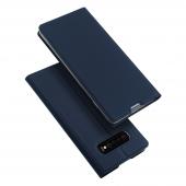 Husa Piele DUX DUCIS Skin Pro pentru Samsung Galaxy S10 G973, Albastra