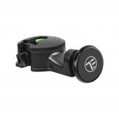 Suport Auto Tetiera Universal Tellur MCM6 pentru telefon, Magnetic, Negru, Blister TLL171072