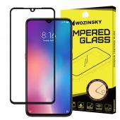 Folie Protectie Ecran WZK pentru Huawei Mate 20 Lite, Sticla securizata, Full Face, Full Glue, Neagra, Blister