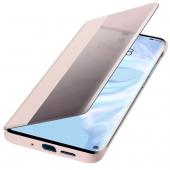 Husa Poliuretan Huawei P30 Pro, Flip View Cover, Roz  51992884