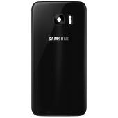 Capac Baterie Negru cu geam camera blitz, Swap Samsung Galaxy S7 G930
