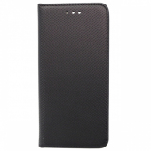 Husa Piele OEM Smart Magnet pentru Huawei P30 lite, Neagra, Bulk