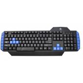 Tastatura USB Gaming Warrior Rebeltec, Neagra