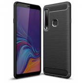 Husa TPU OEM Carbon pentru Samsung Galaxy A20e A202, Neagra, Bulk