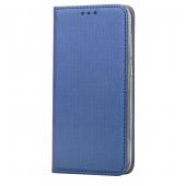 Husa Piele OEM Smart Magnet pentru Samsung Galaxy A40 A405, Bleumarin