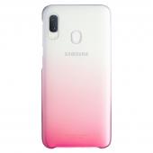 Husa Plastic Samsung Galaxy A20e, Gradation Cover, Roz, Blister EF-AA202CPEGWW