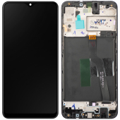 Display - Touchscreen Samsung Galaxy A10 A105, Cu Rama, Versiune EUR / SUB 0.1, Negru GH82-20322A