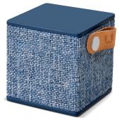 Boxa portabila Bluetooth Fresh'n Rebel Rockbox Cube, Albastra
