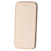 Husa Piele OEM Smart Verona pentru Samsung Galaxy A20 A205 / Samsung Galaxy A30 A305, Aurie