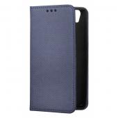 Husa Piele OEM Smart Magnet pentru Samsung Galaxy A10 A105, Bleumarin, Bulk