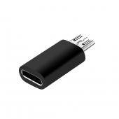 Adaptor Conversie USB Type-C (Mama) la MicroUSB (Tata) OEM, Negru