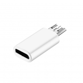 Adaptor Conversie USB Type-C (Mama) la MicroUSB (Tata) OEM, Alb, Bulk