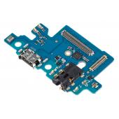 Placa Cu Conector Incarcare / Date - Conector Audio - Microfon Samsung Galaxy A40 A405