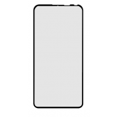 Folie Protectie Ecran OEM pentru Samsung Galaxy A20e, Sticla securizata, Full Face, Full Glue, 6D, Neagra, Blister